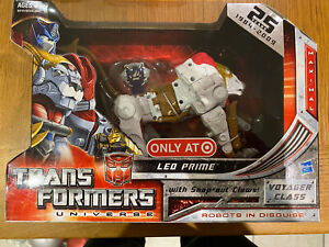 Transformers G1 Hasbro Universe Leo Prime MISB Generations Robots In Disguise