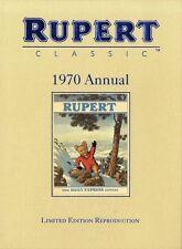 Cartoon Characters Rupert Annuals