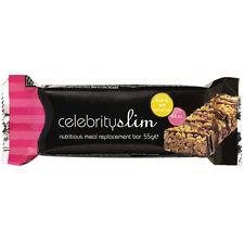 Celebrity SLIM BARRETTE SOSTITUTIVE PASTO - Frutta & Noci x 12 (FULL BOX)