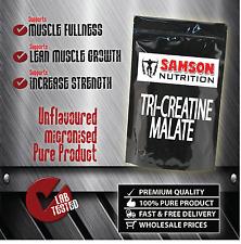 TRI-CREATINE MALATE 1kg POWDER PREMIUM QUALITY BEST VALUE SAMSON NUTRITION