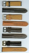 REPLACEMENT MB STRAP BAND FOR BREITLING 18mm 20mm 22mm 24mm GENUINE LEATHER