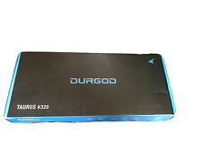Durgod Taurus K320 White Mechanical Gaming Keyboard Cherry MX Silent Black NEW
