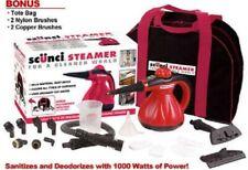 Scunci Steamer Ss-1000 Kills Bateria Dust Mites With Bonus Accessories + Bag New