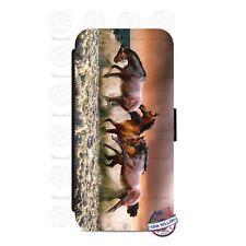Amazing Arabian Horse Wallet Flip Phone Case Cover For iPhone Samsung etc