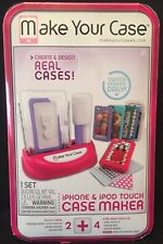 Make Your Case iPhone & iPOD Touch Case Maker, New in Box, One SET Silicone Gel
