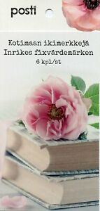Finland 2019 MNH Say It with Flowers Tulips Roses 6v S/A Booklet Flora Stamps