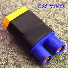 Male XT60 to Female EC3 Losi Turnigy Connector Adapter Mini Crawler 8ight SCT
