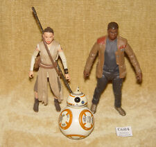 STAR WARS DISNEY ELITE SERIES DIECAST METAL REY BB-8 FINN ACTION FIGURES 2015 6""
