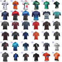 Pro Team Men Biking Cycling Jersey Shirt Short Sleeve MTB Bike Cycle Jersey Top