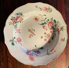 assiette creuse en porcelaine chinoise (famille verte, 18ème)