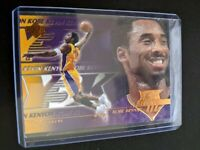 2000-01 Upper Deck Gold Lakers Basketball Card #188 Kobe Bryant Y3K Mint
