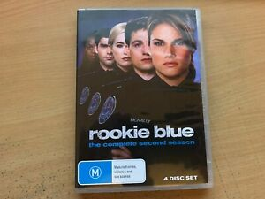 Rookie Blue Season 2 The Second Series Two Missy Peregrym (DVD 4-Disc 2011) R4