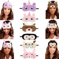 Loungeable Womens Novelty Animal Sleep Eye Masks Blindfold Sleepwear Nightwear
