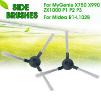 2/4Pcs Vacuum Cleaner Side Brushes For MyGenie X750 X990 ZX1000 P1 P2 P3 Robot