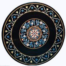 "30"" Decorative Marble Table Top Inlay Work Handmade Work"