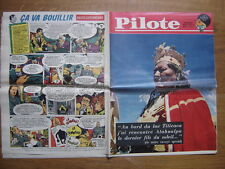 1961 PILOTE 70 pilotorama LA FLOTTE D'INVASION Atahualpa Lac Titicaca