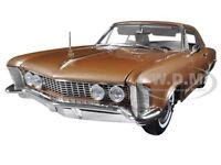 1964 BUICK RIVIERA BRONZE MIST LTD ED 702PCS  1/18 DIECAST MODEL ACME A1806303