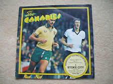 Norwich City v Stoke City Football Programme 1976/1977