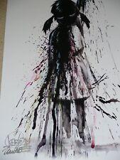 Lora Zombie SIGNED 'OIL' Fine Art Print (+ banksy martin whatson eelus photos)