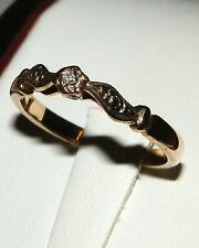 9 carat yellow gold diamond  ring