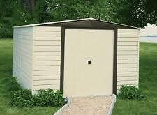 Arrow Sheds 10x6 Vinyl Dallas Metal Storage Shed - Vinyl Coated Steel (VD106)