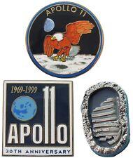 NASA Winco PIN APOLLO 11 - moon landing anniversary boot print Neil Armstrong