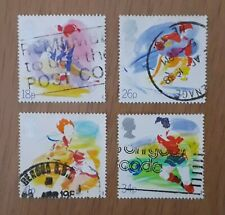 Complete used GB stamp set - 1988 Sports Organisations