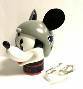 NEW ENGLAND PATRIOTS MICKEY MOUSE HELMET ANTENNA OR PENCIL TOPPER FREE SHIPPING