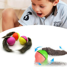Fun Beaver Weasel Rolling Motor Ball Pet Dog Cat Kids Chaser Jump Moving Toy
