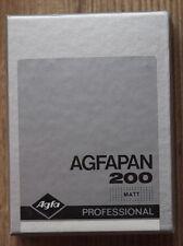 Agfa Agfapan 200 Professional 6,5 x 9 cm  Planfilm / sheet film OVP!