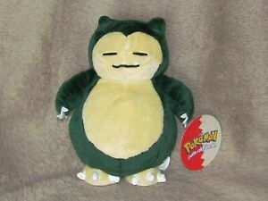 Vintage Official Nintendo POKEMON Snorlax 2000 Made by Plush toys Play By Play