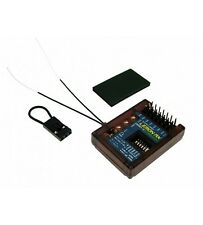 Lemon Rx 7 canales Dsmp/Estabilizador Plus Pin superior de diversidad X Receptor DSMX-UK