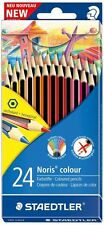 Staedtler Noris 185 CD24 Lápices De Colores Surtido Pack 24 Doble Apilados