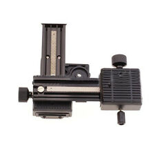 4-Way Macro Focusing Rail Slider Close-up Shooting for Canon Sony Sigma Camera;;