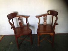 Wooden Antique Style Chairs 2 Pieces
