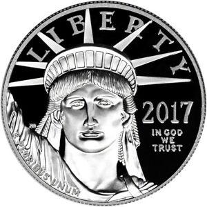 2017-W American Platinum Eagle Proof (1 oz) $100 (17EJ) in OGP
