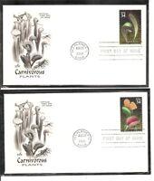 US SC # 3528-3531 Carniverous Plants FDC . Artcraft Cachet