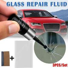 7Pc/Set Car Windshield Glass Repair Resin Kit Auto Broken Window Fix Repair Tool