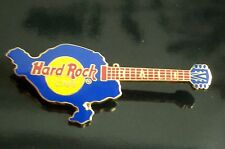 HRC Hard Rock Cafe Bali Blue Shaped Island Guitar
