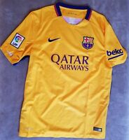 7347ec8d90c NIKE Barcelona Jersey FC Home Kit Shirt NEW Messi Team Soccer Football LARGE