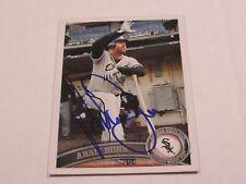 Adam Dunn AUTOGRAPHED Baseball Card JSA Auction Certified