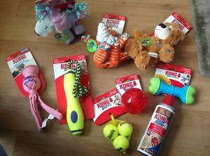 Kong  Dog Toys Large Bundle. 9 items S/M Dog NEW