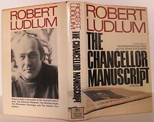 ROBERT LUDLUM The Chancellor Manuscript INSCRIBED FIRST EDITION