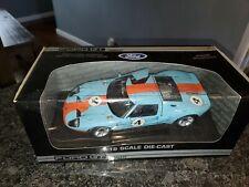 MIB Ford GT Concept Car Gulf Le Man Colors # 4 Beanstalk 1:18 scale diecast