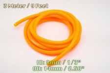 3 METRE ORANGE SILICONE VACUUM HOSE AIR ENGINE BAY DRESS UP 8MM FIT FORD