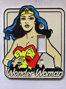 Vintage wonder woman light switch Cover 1976 By Nat'l Periodical Publ.