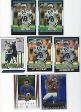 (7)ct 2001 ALEX BANNISTER ROOKIE FOOTBALL CARD LOT (2) BOWMAN CHROME /1999 plus