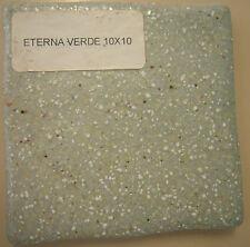 piastrella Eterna verde 10x10 cm rivestimento bagno cucina ceramica mattonella