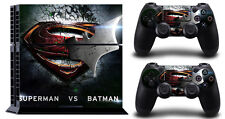 Super VS Batman Sonyps4 Decal Protective Sticker for Sony/ps4 Console Controller