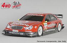 FG Modellsport # 157229 4 DEO 530 Chassis non peint Mercedes Benz 26 ccm